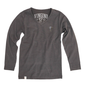 Vingino Langarm-Shirt/Longsleeve V-Neck JAKE black