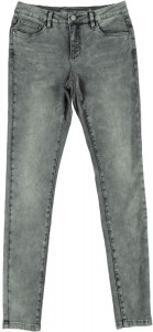 Geisha Sweat-Jeans grau