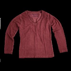 Vingino/LA SELZIONE DI GINO Langarm-Shirt/Longsleeve JENNIFER deep red