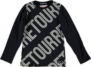 RETOUR Langarm-Shirt/Longsleeve JEROEN black