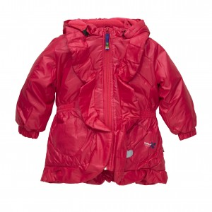 Lego Wear Duplo Mädels Winterjacke bright red (kräftiges pink)