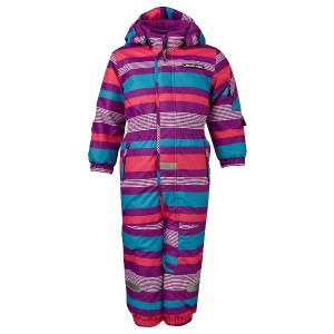 Lego Wear/Lego Tec Schnee-Overall JOE gestreift purple