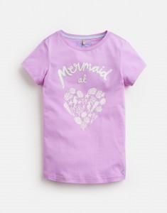 Joules Mädchen T-Shirt PIXIE Mermaid malve