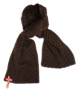 Kiezel-tje Outdoor-Schal braun