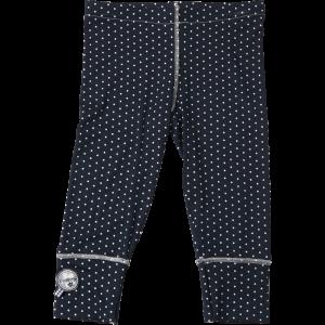 Kiezel-tje 3/4-Legging Punkte navy-weiss