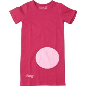 Kiezel-tje Basic-Long-T-Shirt rosa
