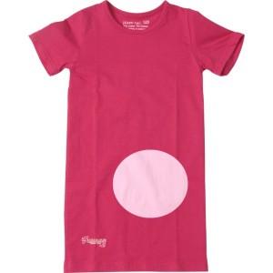 Kiezel-tje Basic-Long-T-Shirt rosa