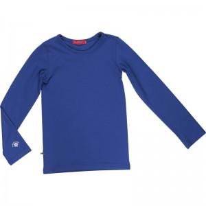 Kiezel-tje Basic-Langarmshirt/Longsleeve cobalt