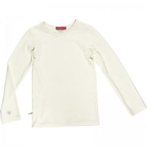 Kiezel-tje Basic-Langarmshirt/Longsleeve off-white