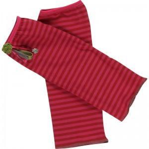 Kiezel-tje Stulpen Streifen rot-pink