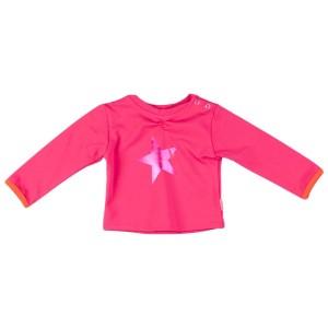 Kiezel-tje Mini Langarm-Shirt/Longsleeve Stern pink