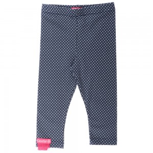 Kiezel-tje Mini Legging dot blue