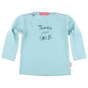 Kiezel-tje Mini Langarm-Shirt/Longsleeve light blue