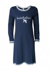 """Louis & Louisa Mädchen Nachthemd """"Kuschelzeit"""" navy"""