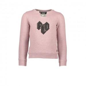 LIKE FLO Sweat-Shirt old pink