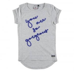RETOUR T-Shirt LYNN grey melange