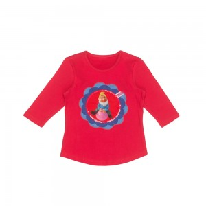 Mim-Pi Langarm-Shirt/Longsleeve Zwerg pink