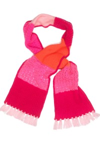 Mim-Pi Schal ton in ton pink