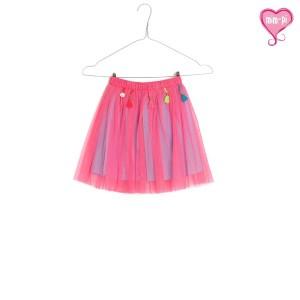 Mim-Pi Petticoat Rock pink