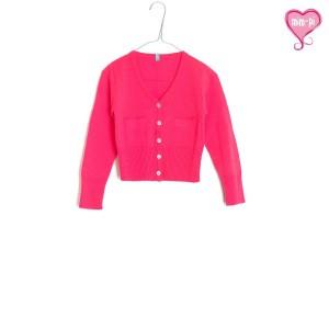 Mim-Pi Cardigan Feinstrick pink