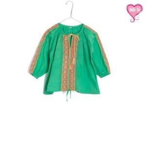 Mim-Pi Bluse grün
