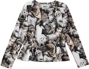 Molo Mädchen Langarm-Shirt RAELICKA miauuu