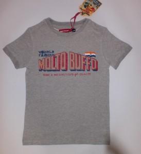 Molto Buffo T-Shirt Print grey melange