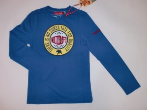 Molto Buffo Longsleeve/Langarm-Shirt circle-Print true blue