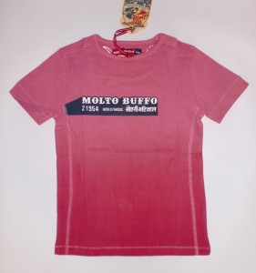 Molto Buffo T-Shirt shocking pink