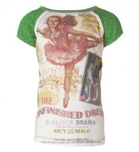 Muy Malo T-Shirt Charlston deep grass