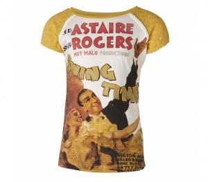 Muy Malo T-Shirt Astaire yolk yellow