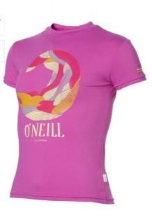 O´Neill T-Shirt/50+ Skin Protection vivid viola