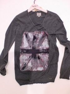 Pepe Jeans London Langarm-Shirt/Longsleeve FANCY grey marl