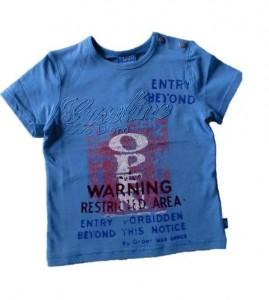 Pezzo D´oro Basic T-Shirt blau