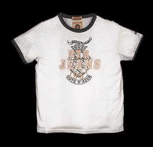 RETOUR Jeans T-Shirt Diego weiß