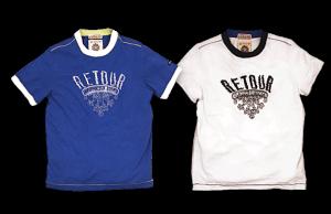 RETOUR Jeans T-Shirt Giorgio bright blue