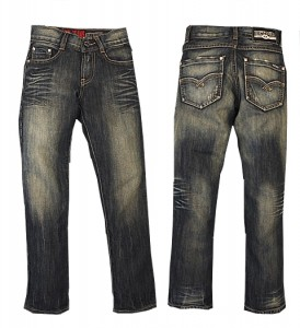 RETOUR Jeans Salvo dark blue denim