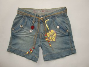 RETOUR Jeans Short denim