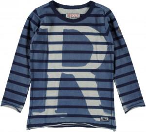 RETOUR Langarm-Shirt/Longsleeve EDO blue