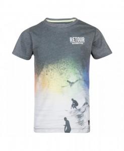 RETOUR DENIM T-Shirt ELLIOT black