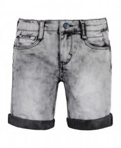 RETOUR DENIM Jeans-Bermuda JUSTON light grey denim