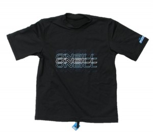 O´Neill T-Shirt/50+ Skin Protection black out