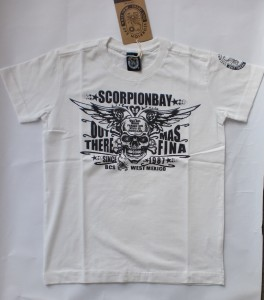 Scorpion Bay T-Shirt Fuel weiß