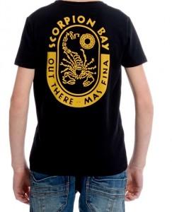 Scorpion Bay T-Shirt schwarz mit Rücken-Print