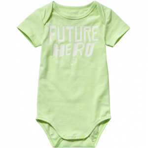 Vingino Mini Kurzarm-Body PHIN neon green