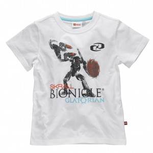Lego Wear Kinder T-Shirt Bionicle weiss