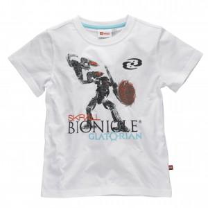 Lego Wear Kinder T-Shirt Bionicle weiss