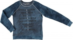 Geisha Pullover/Sweater blue grey
