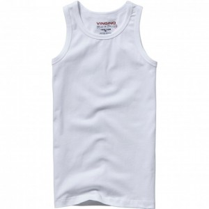 Vingino Boys Basic Unterhemd / Tank top weiß