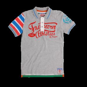 Vingino Polo-Shirt/T-Shirt DEANGELO grey mele